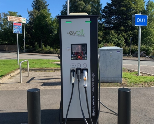 Image of Electric car charging unit