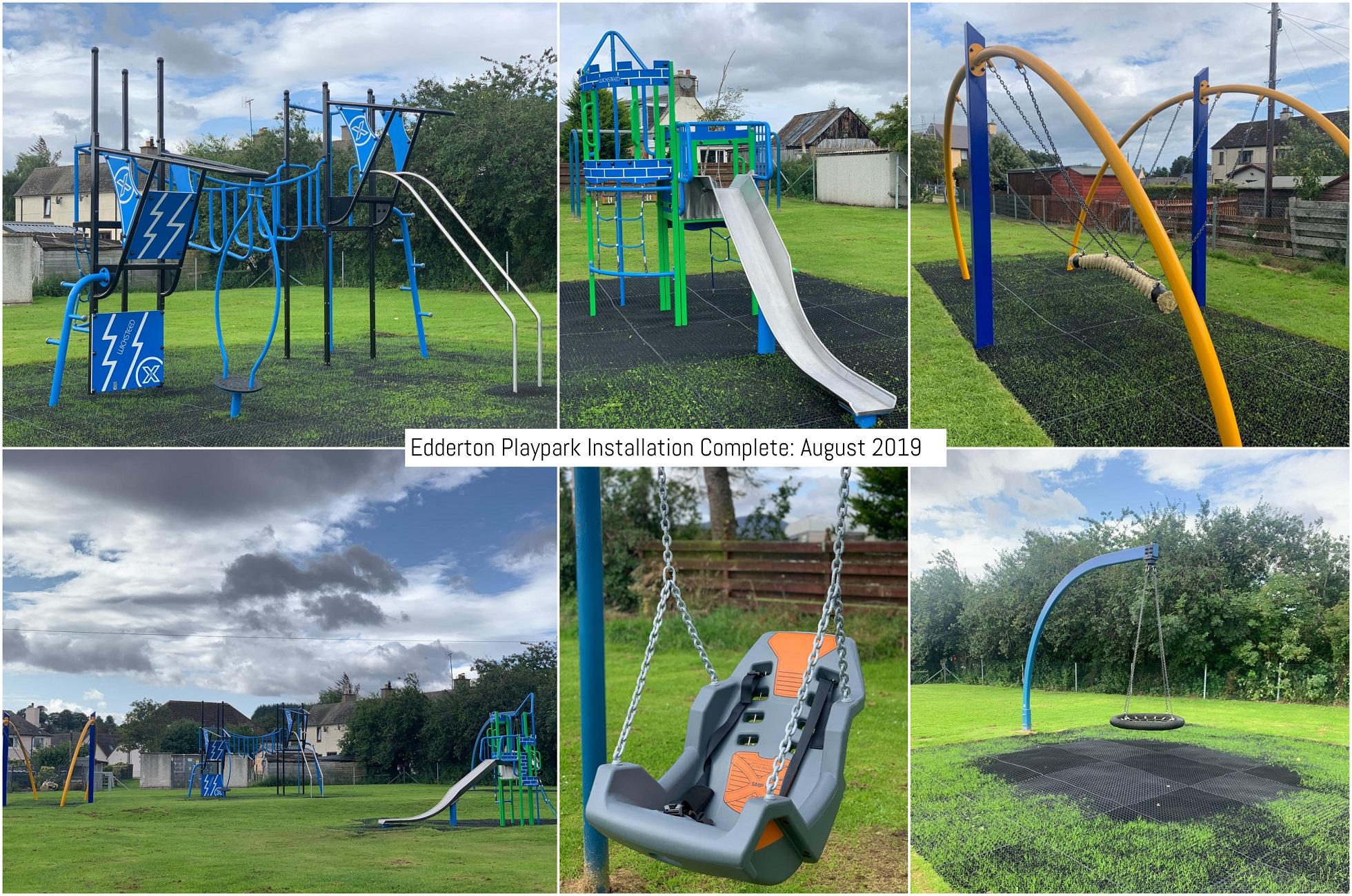 Image of Edderton Playpark